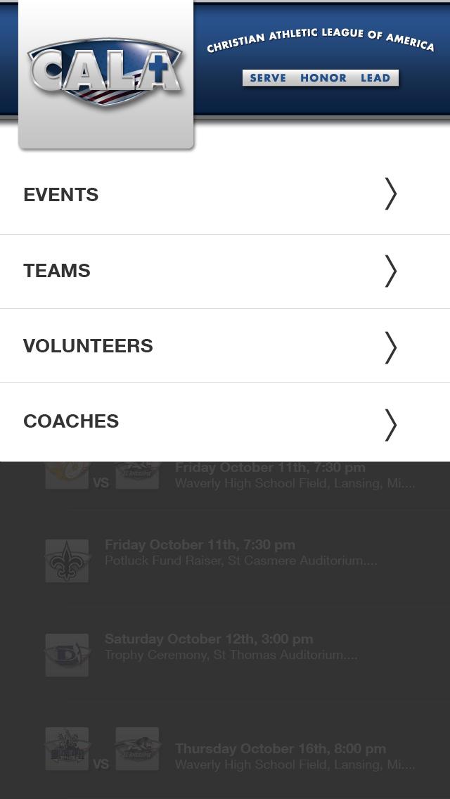 CALA Event App